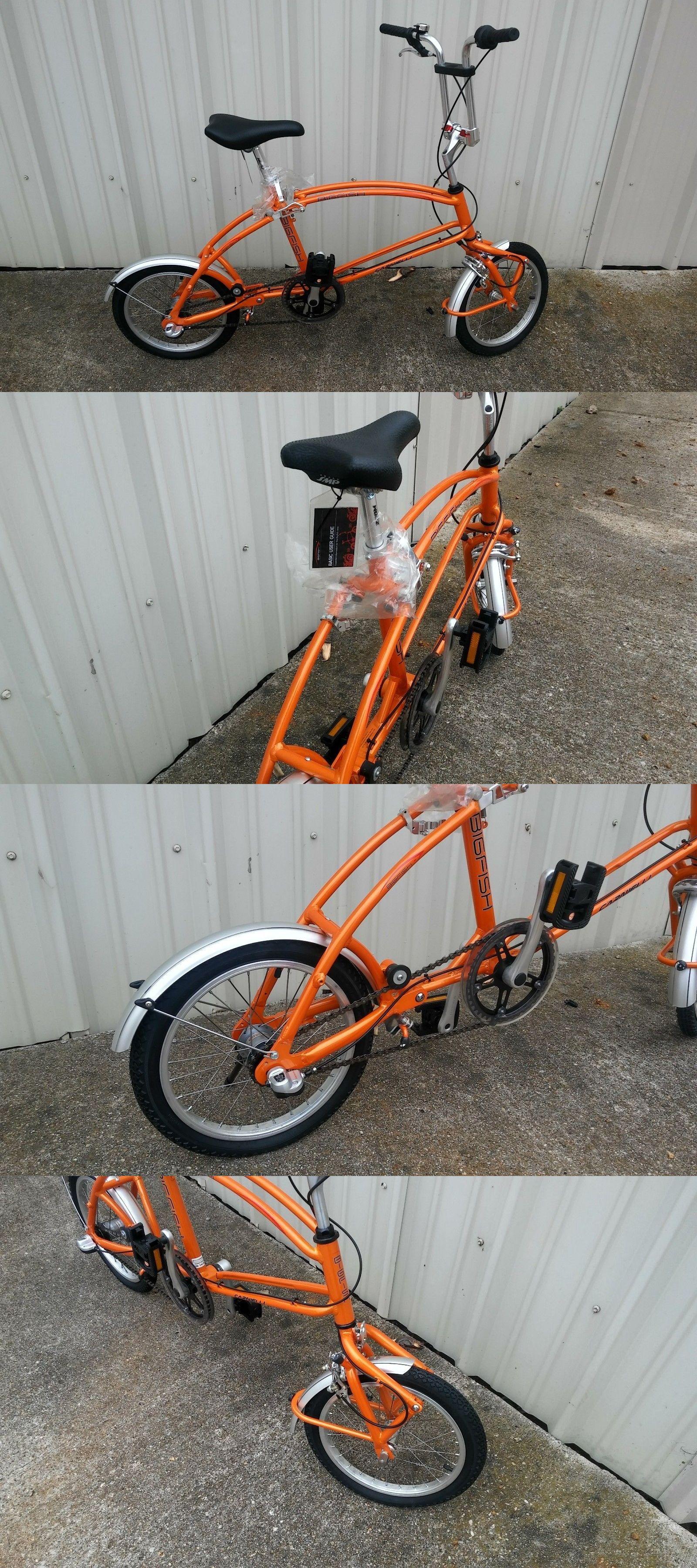 Bicycles 177831 Bigfish Wave Carnielli Folding Bicycle Rare New