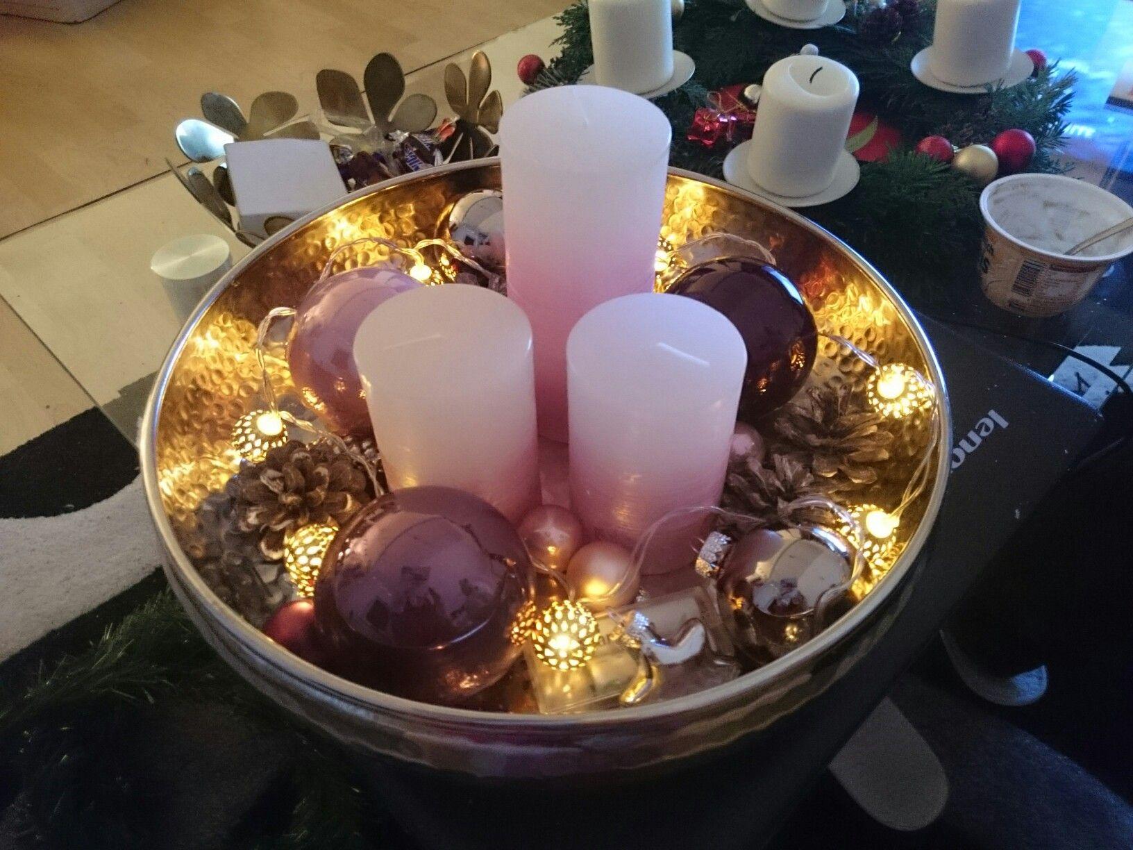 Mein Weihnachts Dekoteller Deko Weihnachten