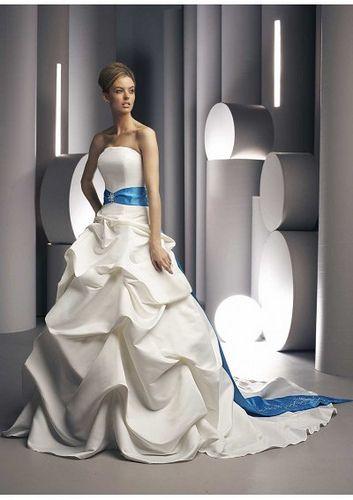 #Blue Wedding Dresses