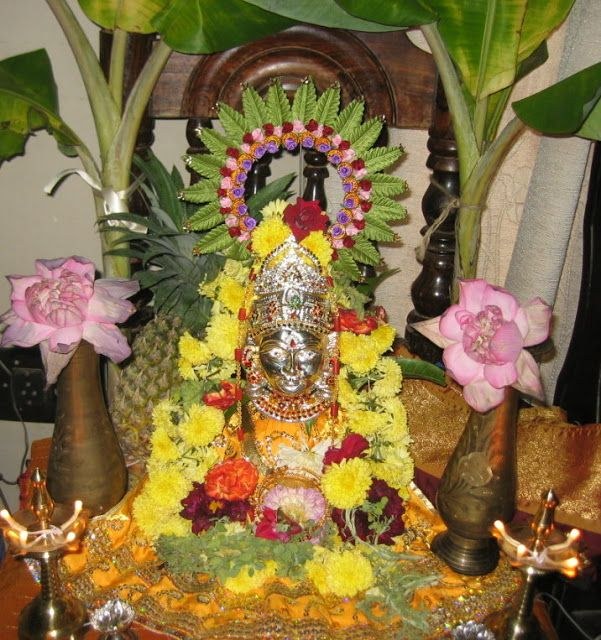 Padma S Recipes Vara Mahalakshmi Vratham Home Decor