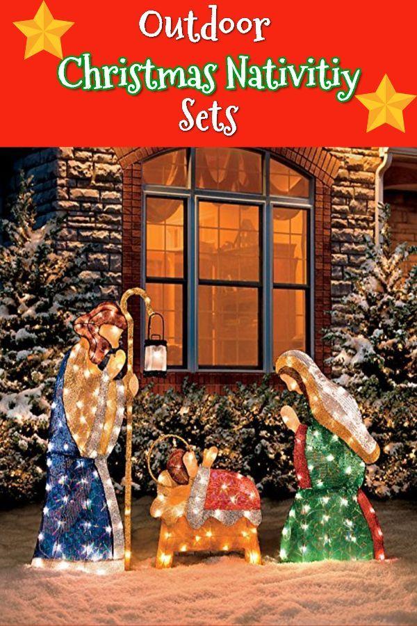 Top 15 Outdoor Christmas Nativity Sets Christmas