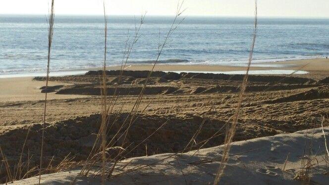 Receding Beach, Rehoboth Delaware