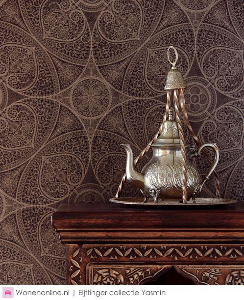 Eijffinger Yasmin Moroccan Decor Pinterest Wallpaper Wall