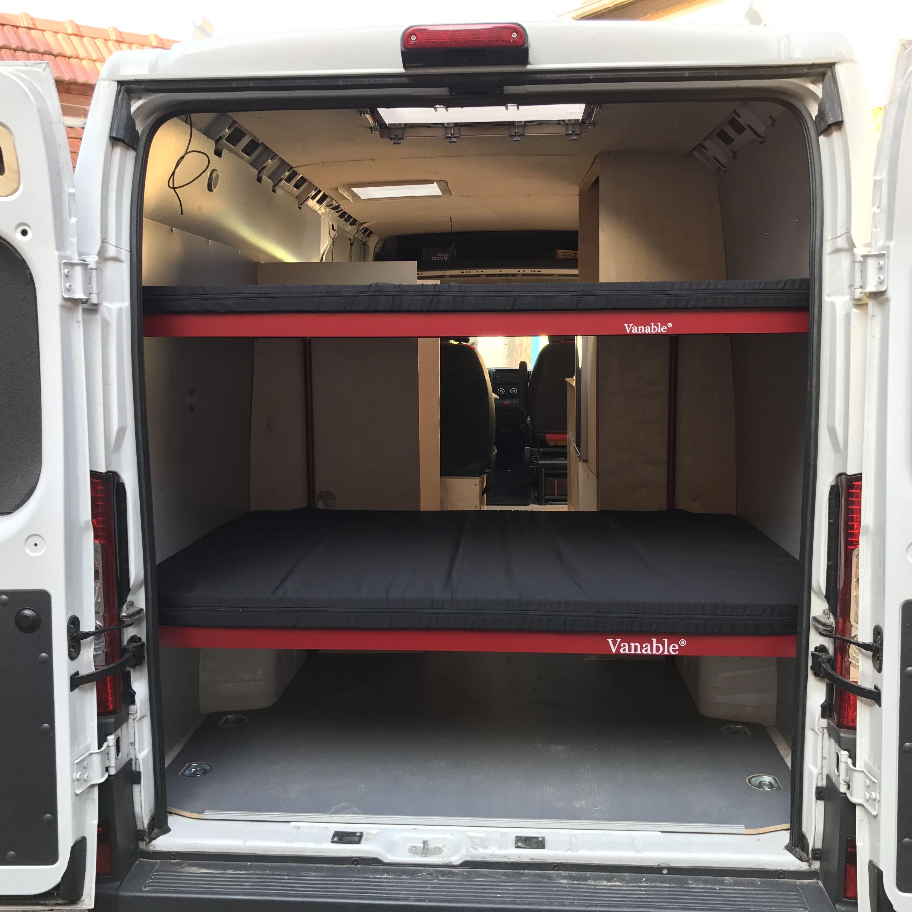 Das Vanable-Doppelstockbett Im Fiat Ducato  Doppelstockbett