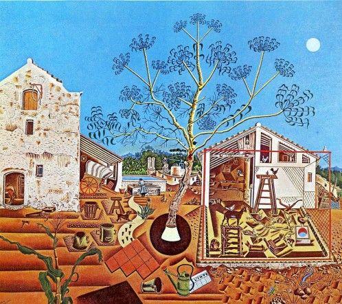 El cuadro «La masía», la obra maestra de Miró y que adquirió Ernest Hemingway para su mujer