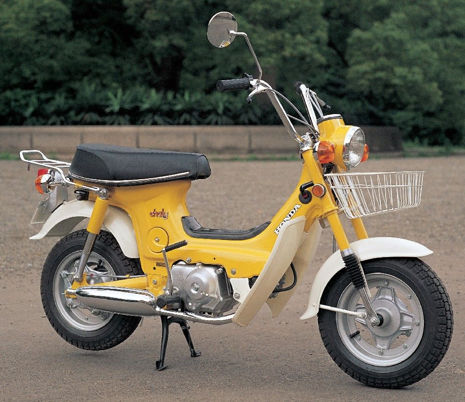 honda chaly 50cc scooters pinterest honda mini bike and motorcycle. Black Bedroom Furniture Sets. Home Design Ideas