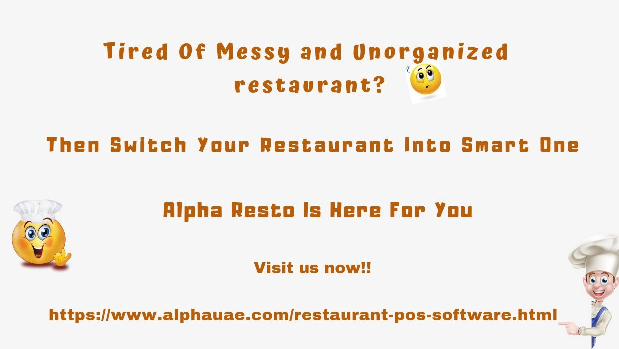 Alpha Resto Is The Complete Solution For Your Restaurant Visit Us