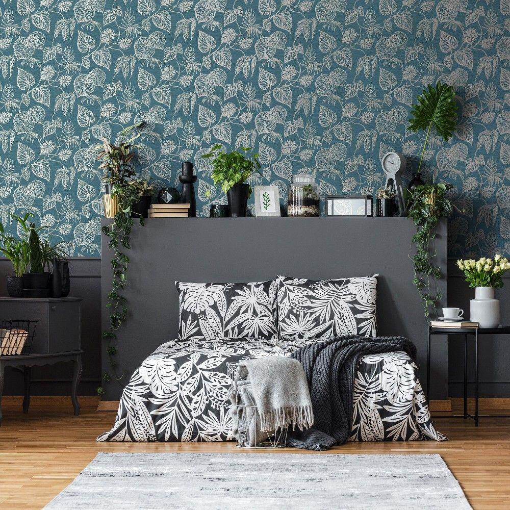 Pin by Samantha Lloyd on Bedroom in 2020 Grey wallpaper