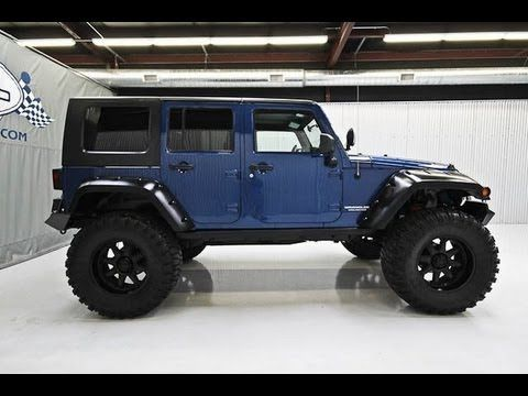 Lifted Jeeps For Sale >> 2009 Jeep Wrangler Unlimited Rubicon Lifted Jeep 4 Sale