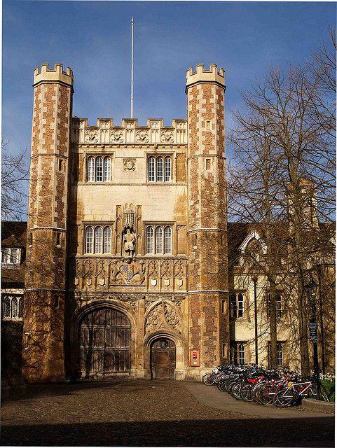 Trinity College Gatehouse Cambridge