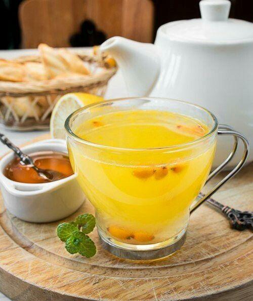 чай облепиховый с имбирем мираторг