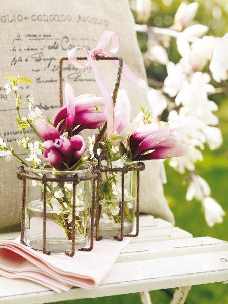 Romantisch wird es auch mit bl ten zwei kleine - Romantisch idee ...