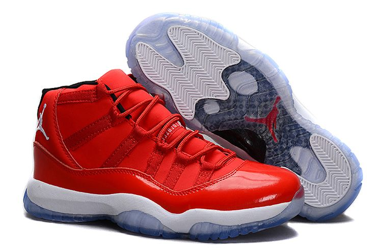 buy online 5fe75 6304e Clearance Nike Air Jordan Xi 11 Retro Mens Shoes High Chinese Red White  from Reliable Big Discount!