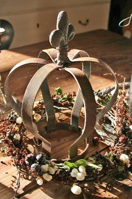 Wreath and rust | Blomsterverkstad