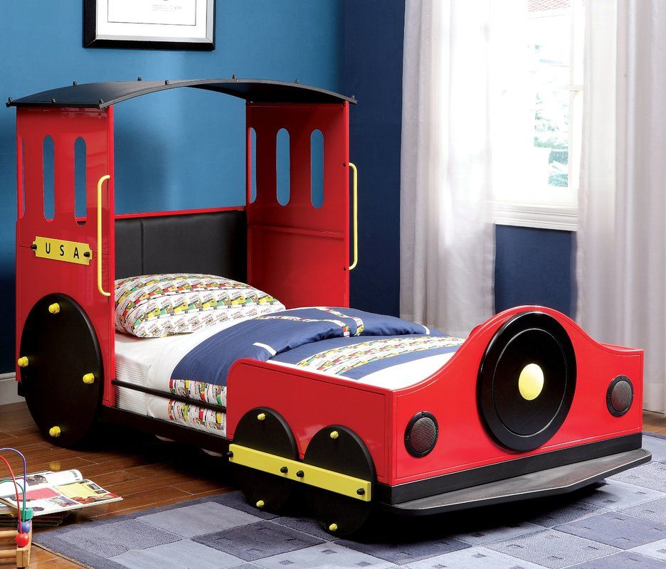 Tripton Twin Car Bed Train bed, Twin car bed, Kid beds