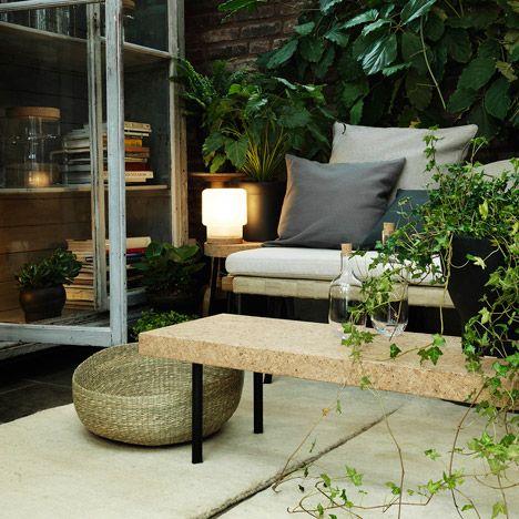 Ikea Has Collaborated With London Designer Ilse Crawford To Launch A Range Of Low Key Cork And Natural Decoracion De Unas Disenos De Unas Muebles De Exterior