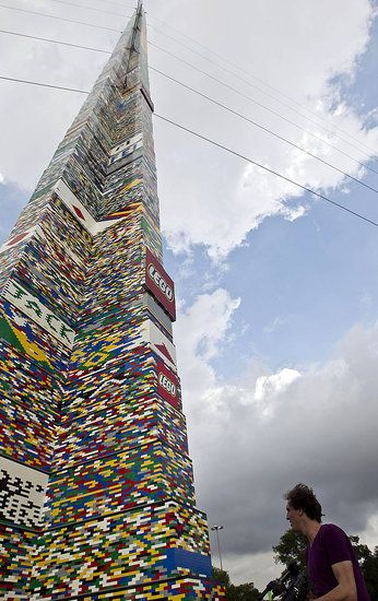 Worlds Largest Lego Tower!
