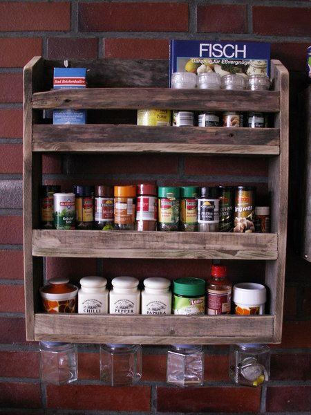 Gewürz-/ Küchenregal aus Palettenholz # 1 Diy design and Bremen - küchenregal selber bauen