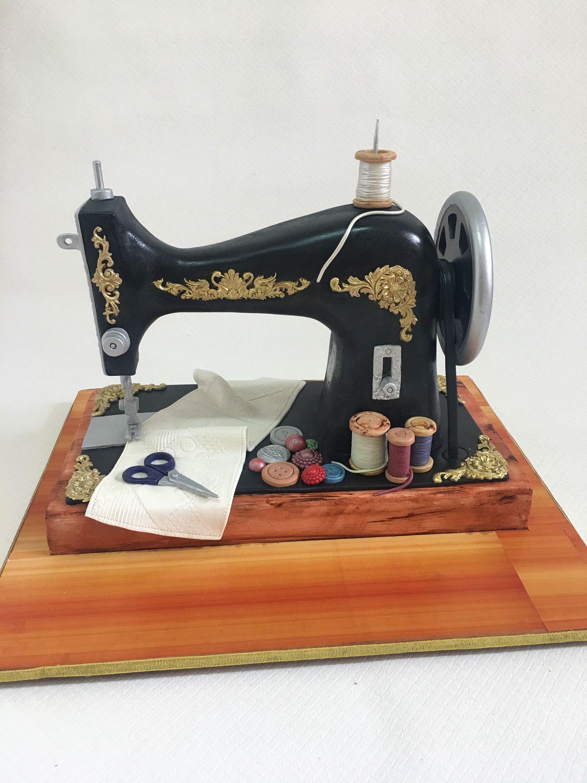 Old Sewing Machine Cake Sewing Machine Cake Sewing Machine Old Sewing Machines