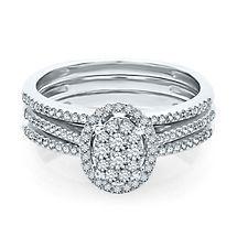 1/2 ct. tw. Diamond Engagement Ring Set in 10K Gold