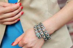 snake bracelet bling