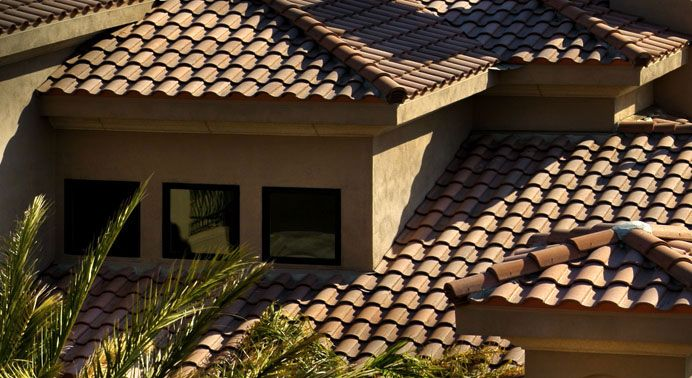 Best Eagle Roofing Products Tile Detail Sunset Blend 3646 400 x 300