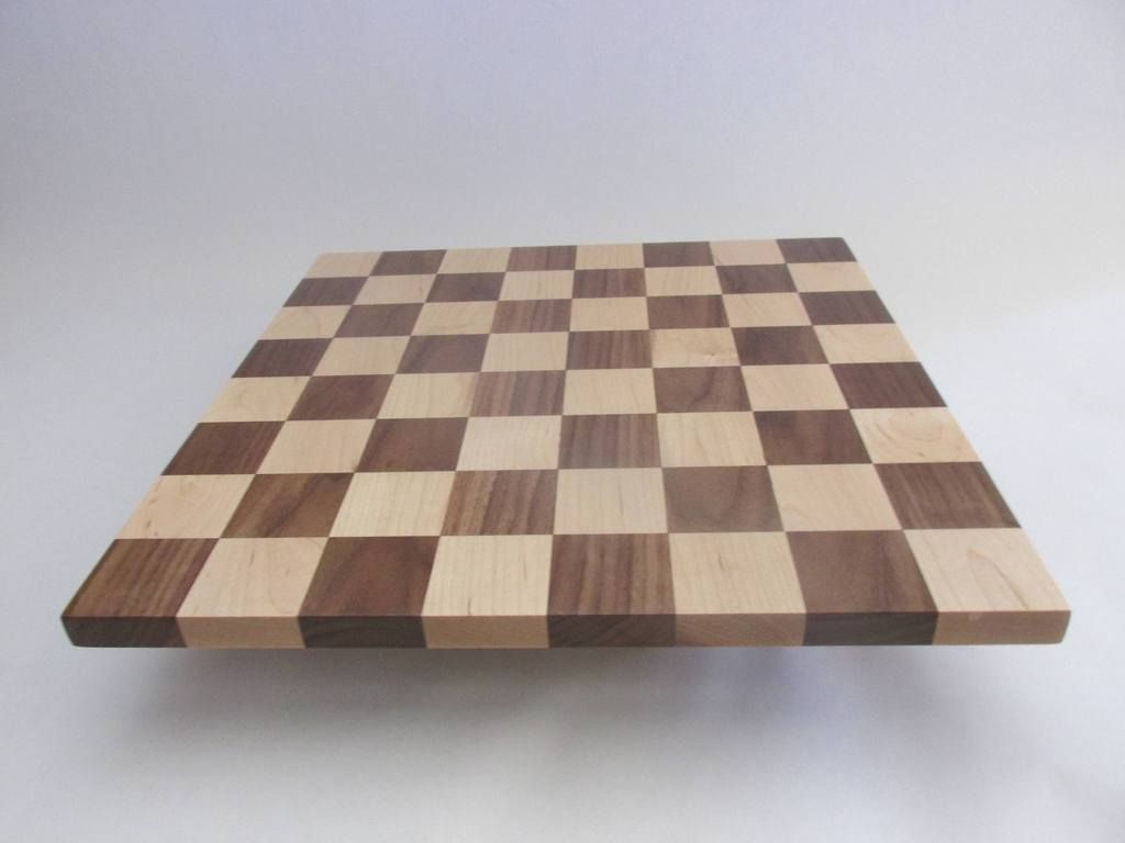 Solid Wood Handmade Chess Board Made Of Maple And Walnut Woods Great Birthday Gift For Any Chess Lover Custom Orders Welcome 16 Inch Board Game Walnut Wood Chess Board Wood Chess Board