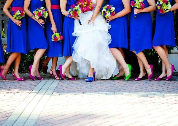 Tuesday Shoesday Something Blue Wedding Weddings Bridal