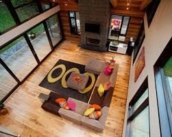 Image result for modern guest bedroom ideas with natural hickory floors
