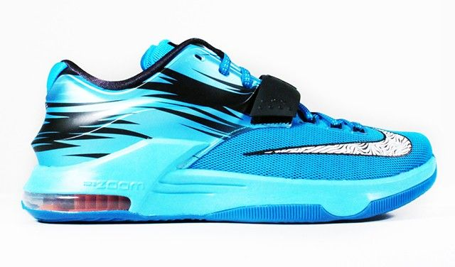 "best website a02f3 84c0b Nike KD 7 ""Road Camo / Blue Lacquer / Clearwater / Lorem ..."