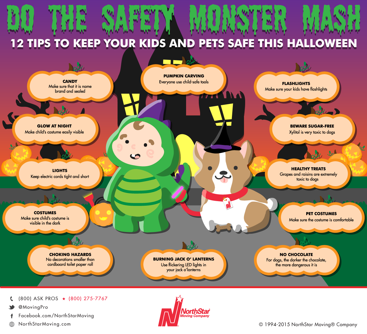 Experts share simple tips for a safe, scare-free Halloween to keep ...