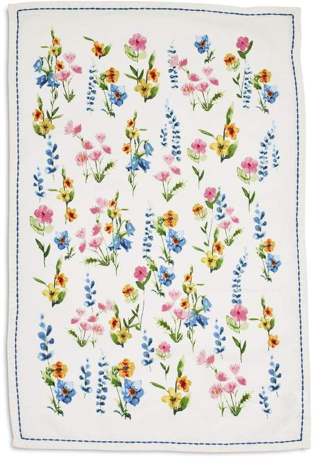 Floral Kitchen Towel 28 X 18 Sur La Table Kitchen Towels Towel Charming Kitchen