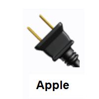Electric Plug Emoji Plugs Electricity Emoji