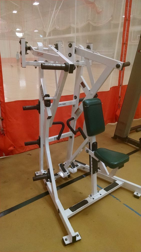 Details about Hammer Strength Plate Loaded Iso-Lateral LOW