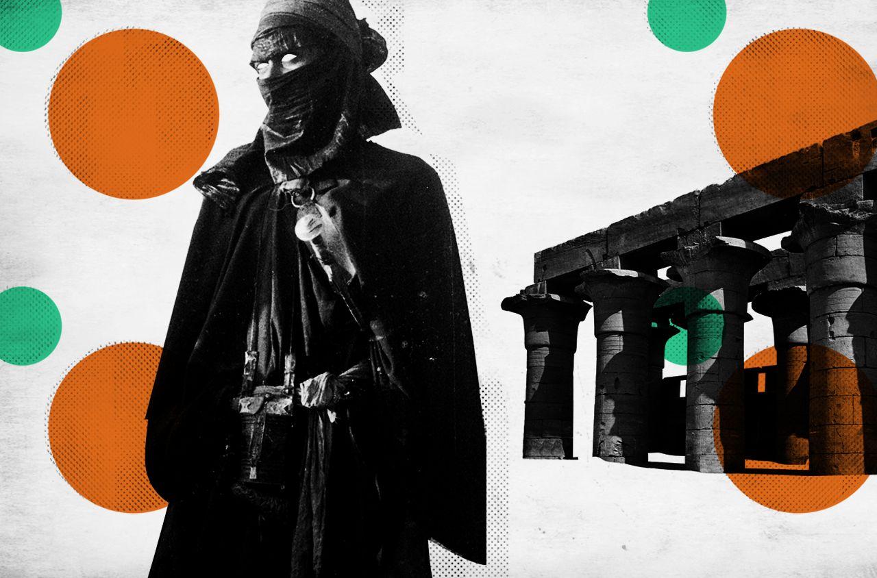 Tuareg art print.