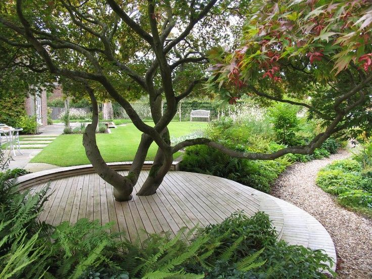 Circular features / repinned on toby designs garden ideas