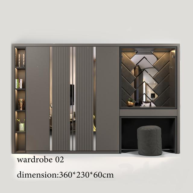 3d models: Wardrobe & Display cabinets - wardrobe0