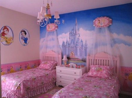 Univers Deco Chambre Fille Princesse Disney Wallpaper Disney