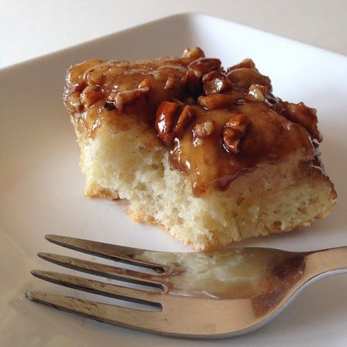 Food Pusher: Caramel Pecan Focaccia
