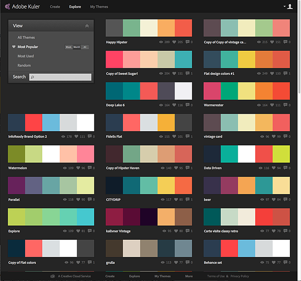 How You Can Use Adobe Kuler (since Renamed Adobe Color CC