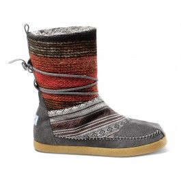dc56c11729f TOMS Mixed Woven Women s Nepal Boots