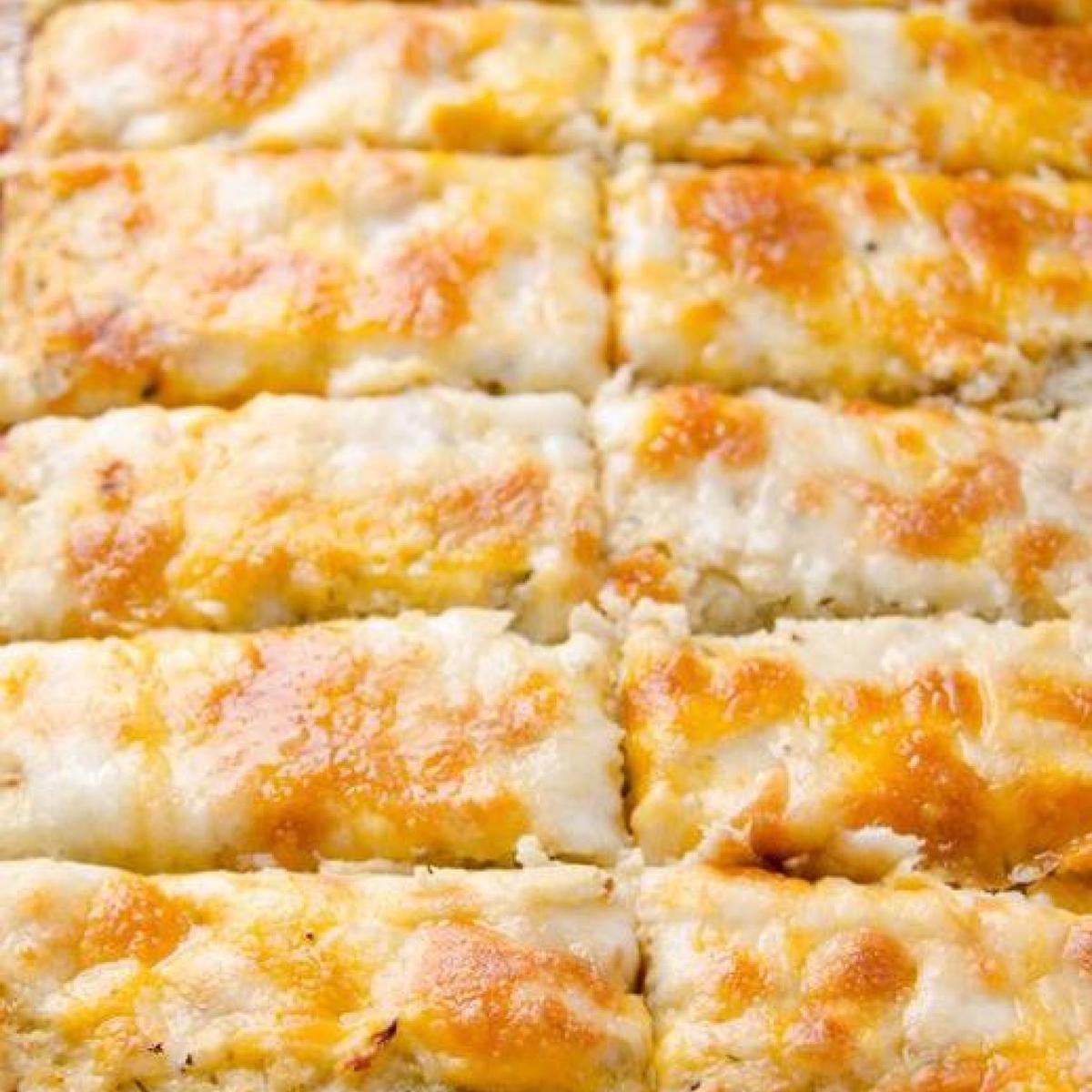 Amazing Cheesy Cauliflower Breadsticks Recipe Food Recipes