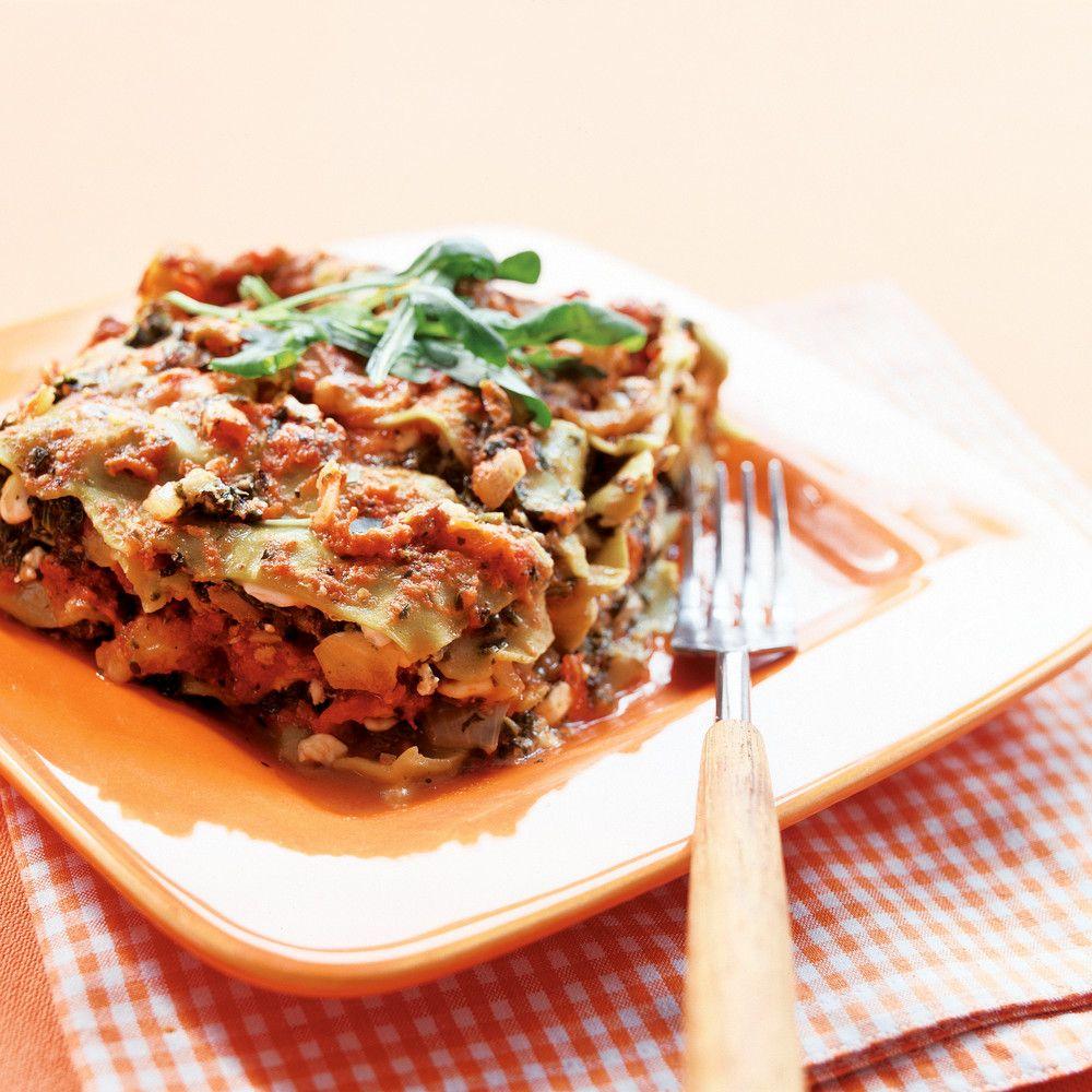 Helppo pinaatti-raejuustolasagne - K-ruoka
