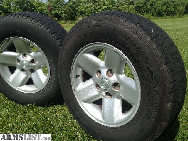 For Sale Trade Ram Dodge Truck Rims 17 Aluminum Wheel Goodyear Tires Rims Wheels For Sale Dodge Wheels Dodge Pickup Trucks