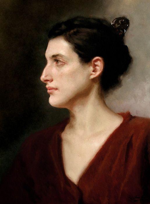 Digital Portrait Art Portrait Painting Portrait