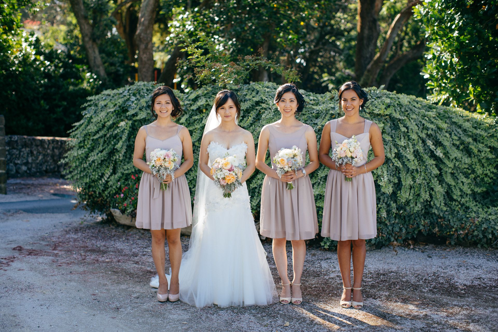 eee20b563a80c Bridesmaids wearing our Evelyn