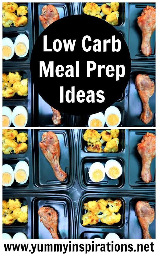 Meal Prep Ideas For The Week - Low Carb, Keto Diet Inspiration for weight loss with roast chicken & turmeric cauliflower recipes & video.