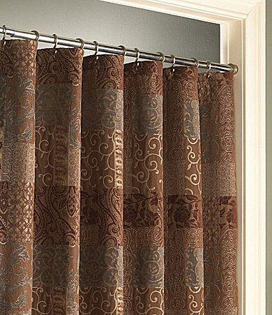 Croscill Galleria Brown Shower Curtain Dillards Com For The