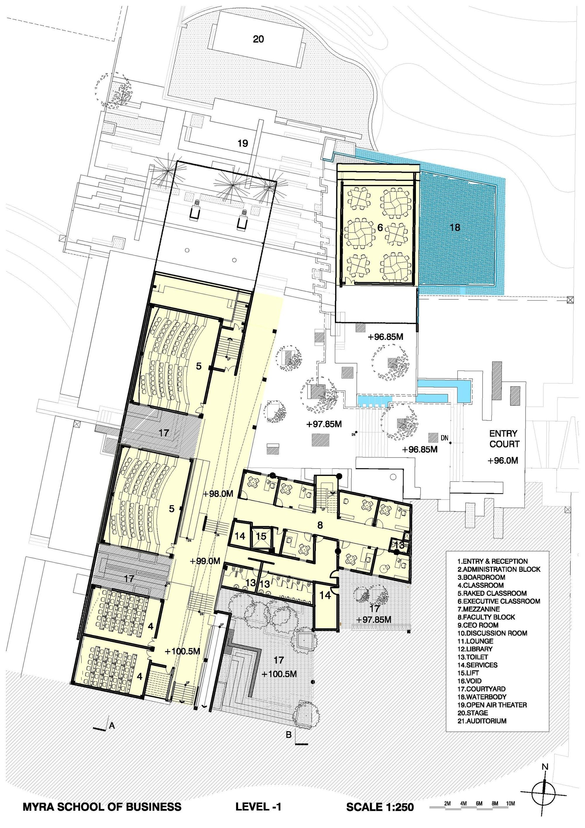 Gallery Of Myra School Of Business Architecture Paradigm 19 Business Architecture Education Architecture Architecture Building Design