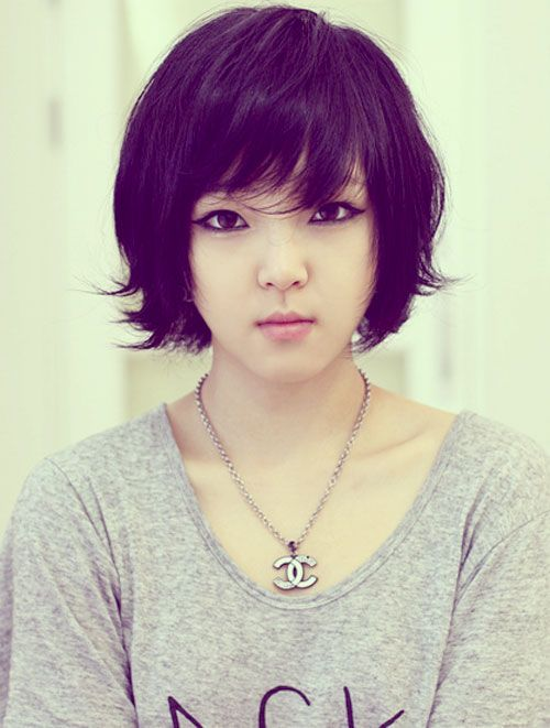 20 Asian Makeup Trends You Need To Try This Year: 20 Best Asian Short Hairstyles For Women